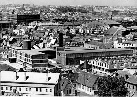 The Engineering buildings in 1961. Image by University of Sydney Archives.