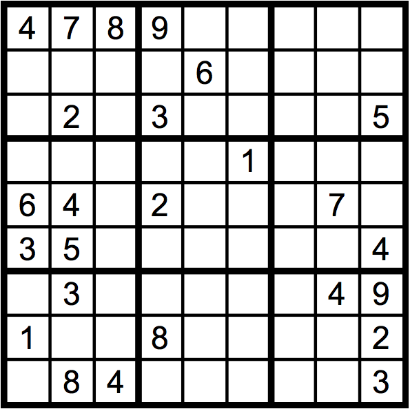 Sudoku: Welcome Week