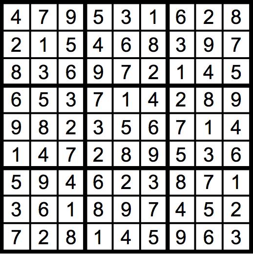1901-Sudoku-solution