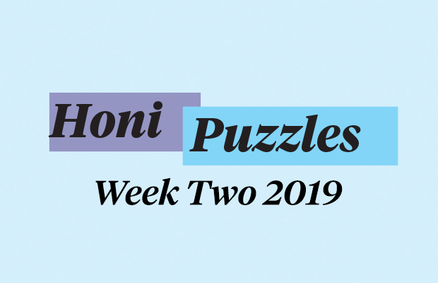 puzzles week two