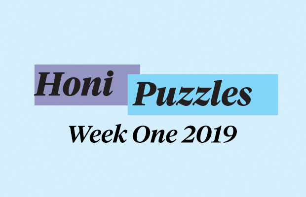 Honi Puzzles Week One 2019