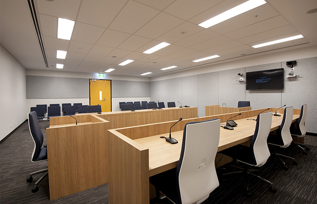 Tribunal room of NSW Civil and Administrative Tribunal