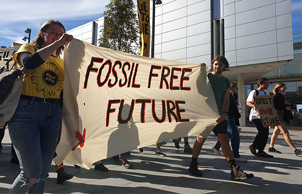 Supplied: Fossil Free USyd