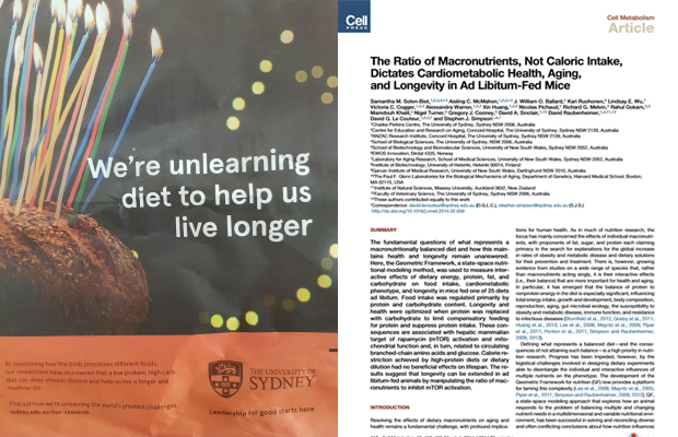 Sydney morning herald full page unlearn advertisement and picture of the paper from the study