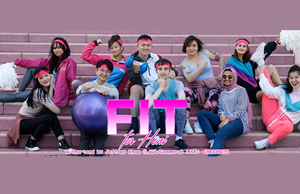 Fit candidates, 10 of them in activewear