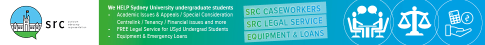 SRC website, We help students