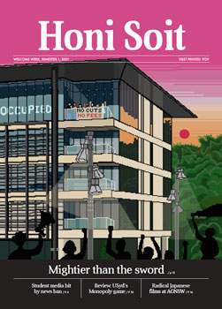 Cover of Honi Soit, Welcome Week, Semester 1, 2021