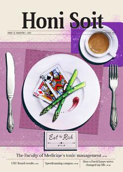 Cover of Honi Soit, Week 13, Semester 1, 2021