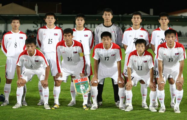 North Korean Football team