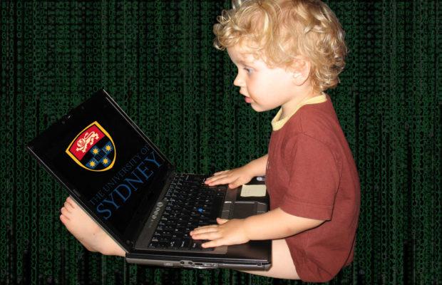 Child hacker