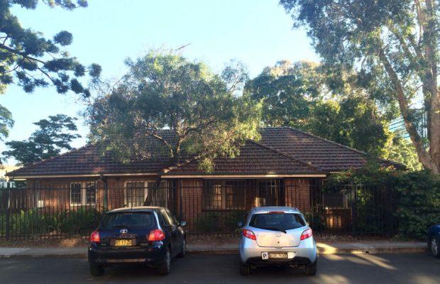 Bruce Ross' House