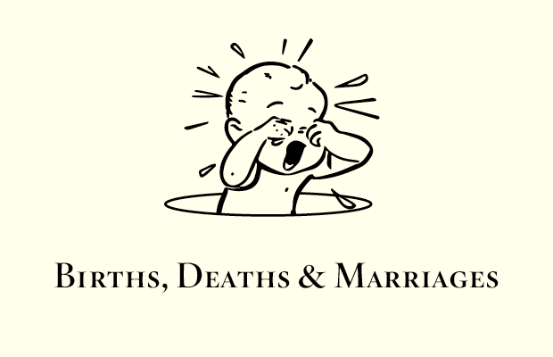 The Births, Deaths and Marriages Child