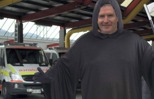 Grim Reaper ambulance