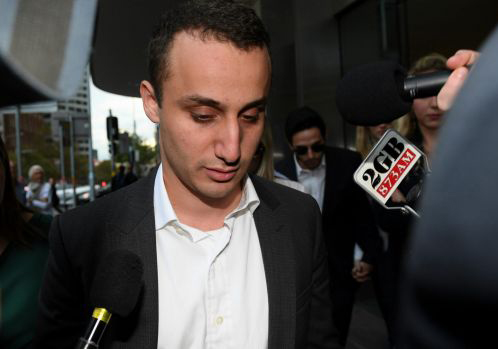 Luke Lazarus was recently acquitted of sexual assault charges.
