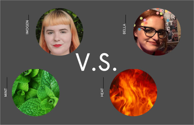 Imogen Grant and Isabella Pytka will contest the SRC presidency, while Heat and Mint are campaigning to be your next Honi editors. Image: Facebook / Misc. Google Images