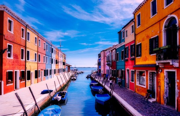 """If you haven't been to Burano, your relationship is a joke"" - Millenials, probably."