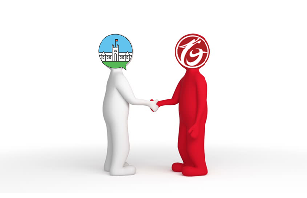 2 people shaking hands with SRC and longton legal