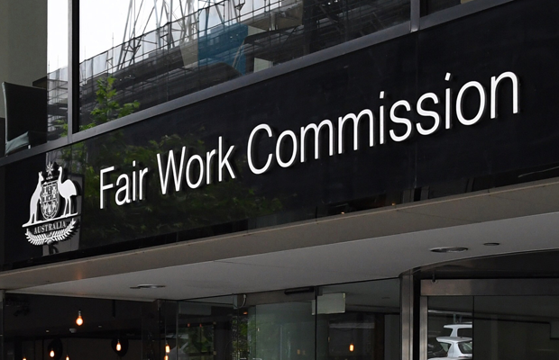 A photograph of the exterior of the Fair Work Commission
