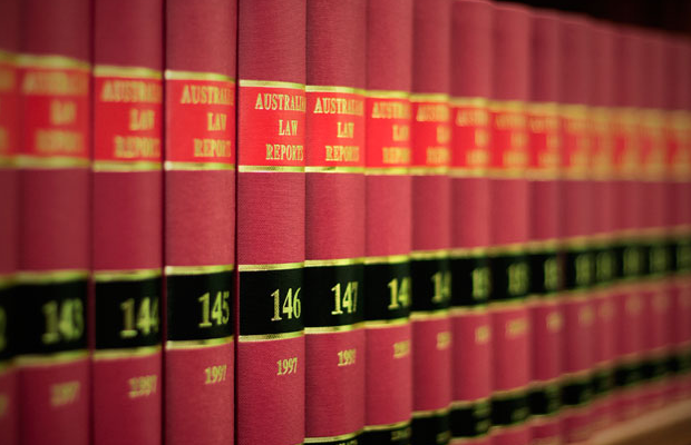 An image of bound Australian Law Reports