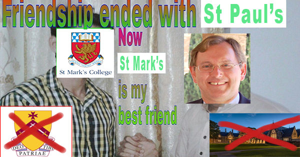 friendship ended with pauls