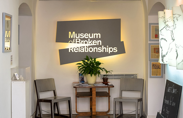 The museum of broken relationships in prague
