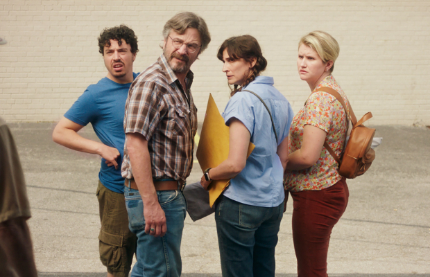 An image of the main characters of the film