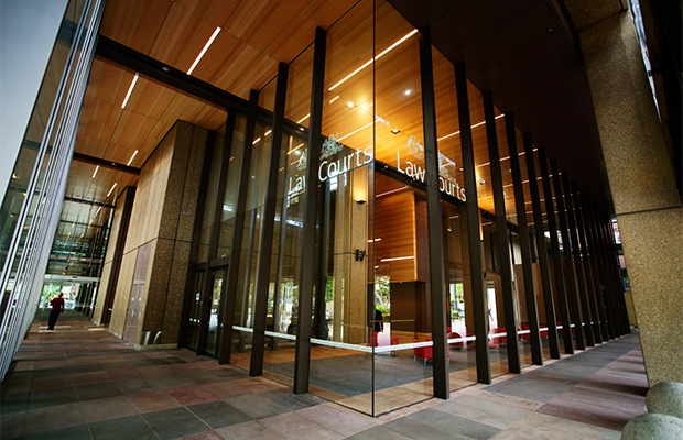 Sydney law courts in queens square