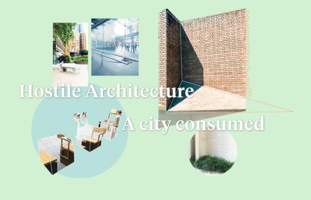 Hostile architecture
