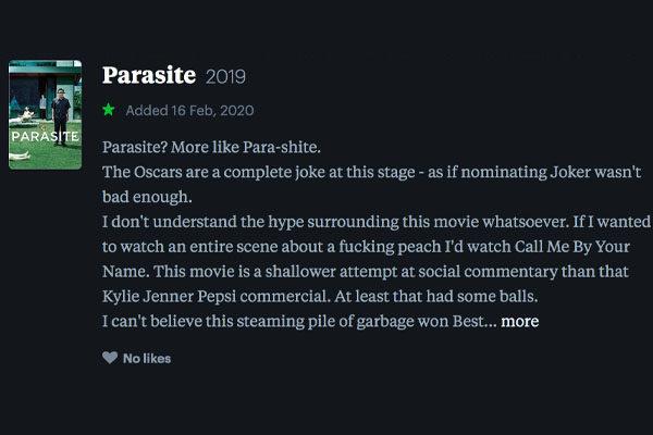 parasite letterbox