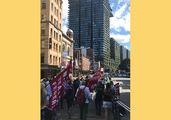 Hundreds gather in Sydney demanding justice for refugees